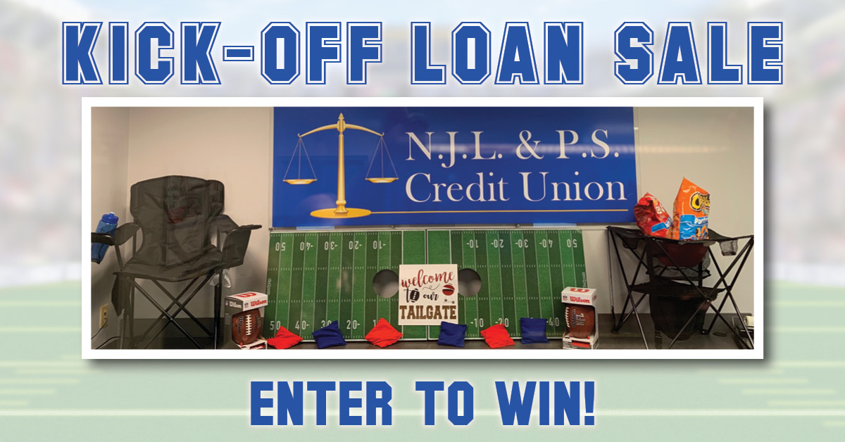 Tailgate Sweepstakes Kick Off Loan Sale Enter to Win!