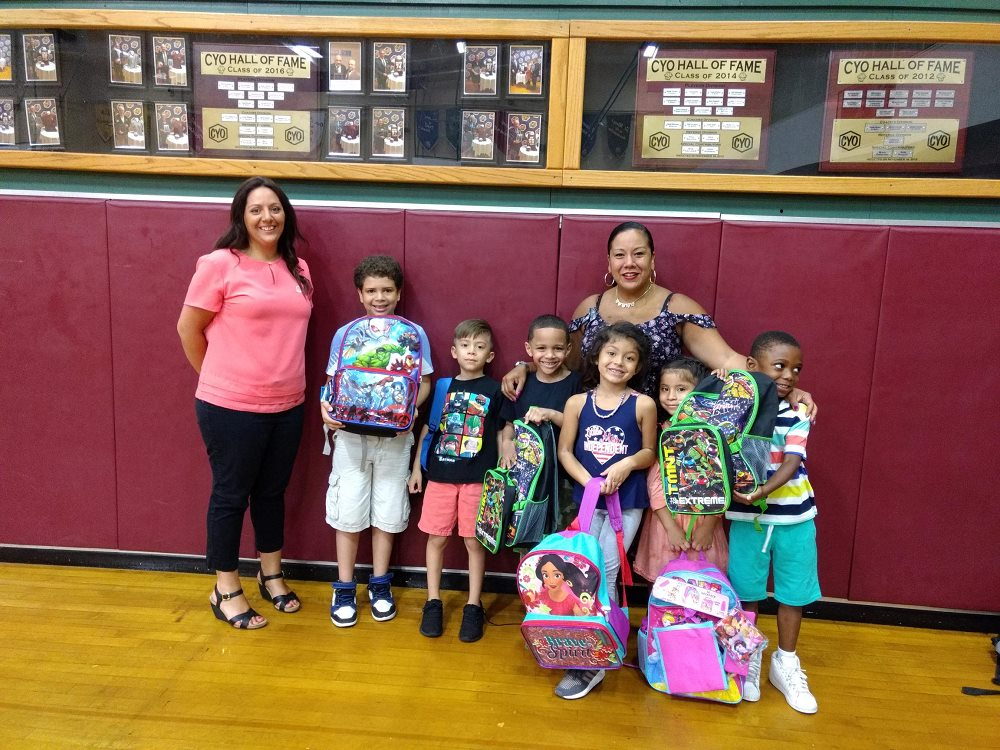 NJL & PS Credit Union Community Backpack Drive