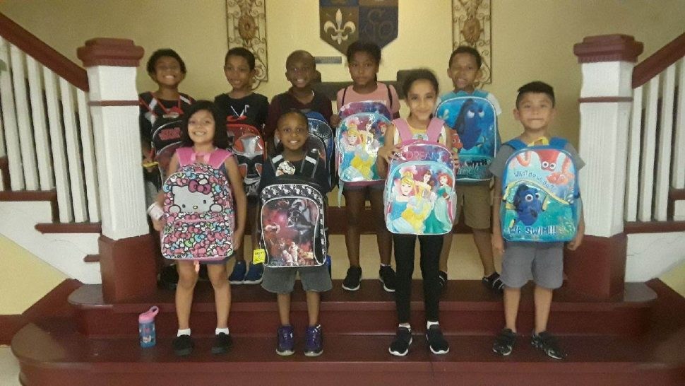 Backpack Recipients